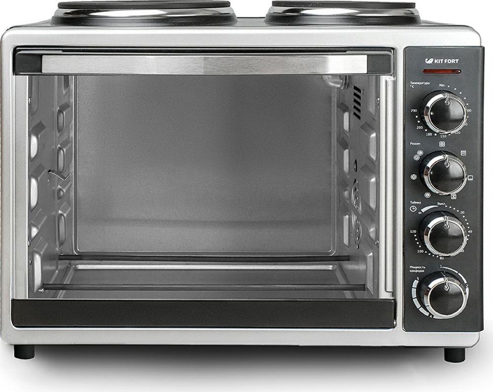 Kitfort КТ-1703, Black мини-печь - Мини-печи
