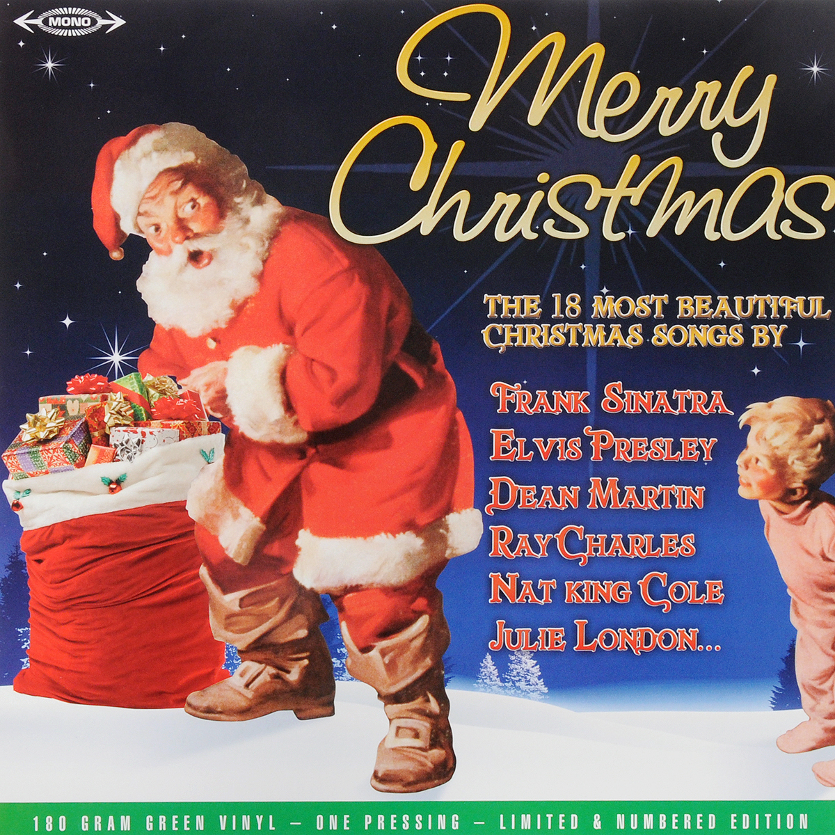 Фрэнк Синатра,Элвис Пресли,Перри Комо Merry Christmas (Green Vinyl) (LP) гантели wizard rat jlsyl688