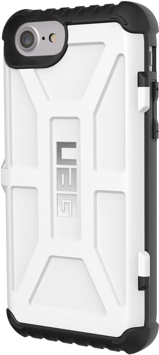 UAG Trooper чехол для Apple iPhone 8/7/6s, White аксессуар чехол uag plasma cobalt для apple iphone 7 blue iph7 6s l cb