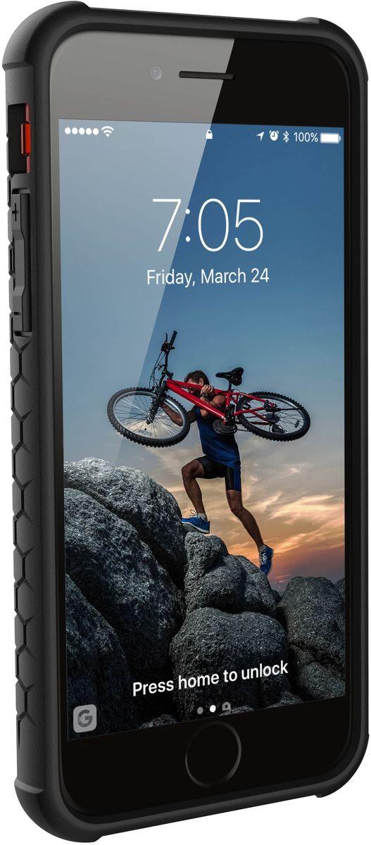UAG Monarch чехол для Apple iPhone 8/7/6s, Red uag компании apple iphone8 iphone7 популярные бренды мобильный телефон оболочки защитный рукав алмаз алмазные 4 7 дюйма льда
