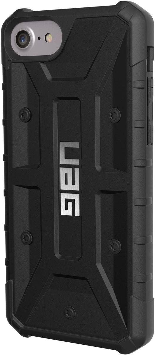 UAG Pathfinder чехол для Apple iPhone 8/7/6s, BlackIPH8/7-A-BKСовременный дизайн изделий отлично подходит к различным стилям в одежде: спортивный, повседневный, милитари и другие.Эти аксессуары повышенной прочности подходят как для обычной жизни, так для условий, требующих дополнительной защиты ваших устройств (спорт, строительство, узкопрофессиональная сфера деятельности).