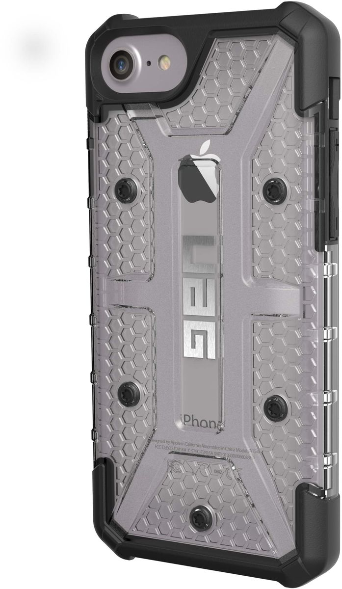 UAG Plasma чехол для Apple iPhone 8/7/6s, GrayIPH8/7-L-ICСовременный дизайн изделий отлично подходит к различным стилям в одежде: спортивный, повседневный, милитари и другие. Эти аксессуары повышенной прочности подходят как для обычной жизни, так для условий, требующих дополнительной защиты ваших устройств (спорт, строительство, узкопрофессиональная сфера деятельности).