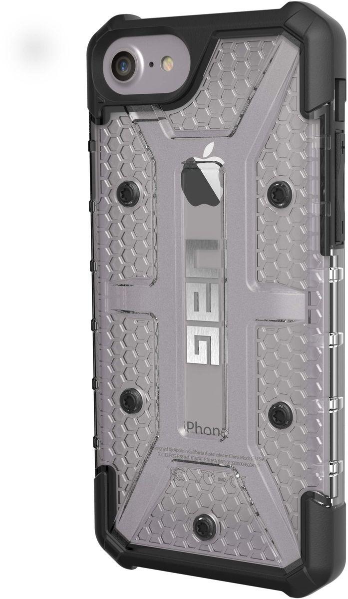 UAG Plasma чехол для Apple iPhone 8/7/6s Plus, GrayIPH8/7PLS-L-ICСовременный дизайн чехла UAG Plasma отлично подходит к различным стилям в одежде: спортивный, повседневный, милитари и другие. Этот аксессуар повышенной прочности подходит как для обычной жизни, так и для условий, требующих дополнительной защиты ваших устройств (спорт, строительство, узкопрофессиональная сфера деятельности).
