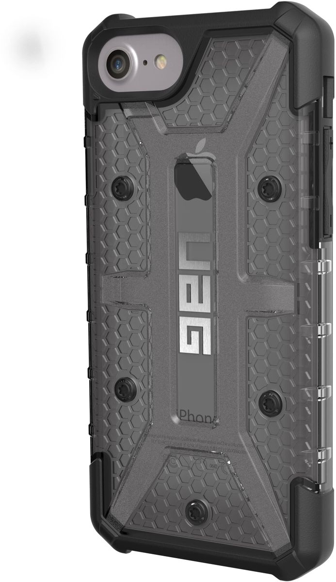 UAG Plasma чехол для Apple iPhone 8/7/6s Plus, Dark Gray uag iphone8 plus 5 5 дюйма падение сопротивления mobile shell чехол для apple iphone8 plus iphone7 plus premier series space gray
