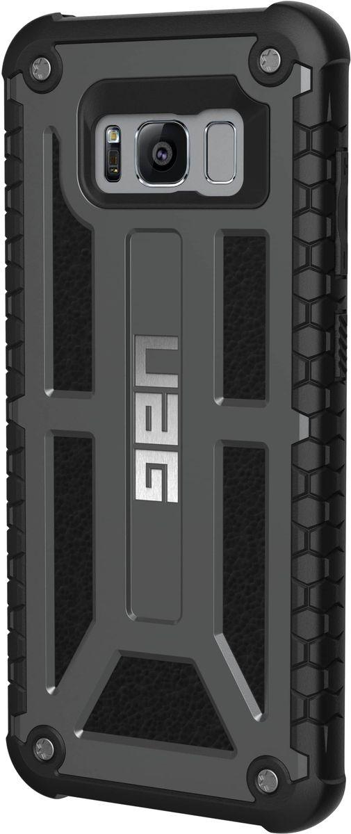 UAG Monarch чехол для Samsung Galaxy S8, BlackGLXS8-M-GRСовременный дизайн изделий отлично подходит к различным стилям в одежде: спортивный, повседневный, милитари и другие. Эти аксессуары повышенной прочности подходят как для обычной жизни, так для условий, требующих дополнительной защиты ваших устройств (спорт, строительство, узкопрофессиональная сфера деятельности).