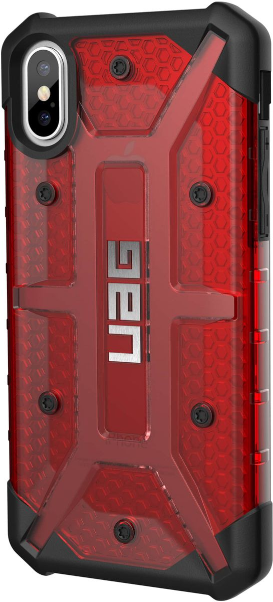 UAG Plasma чехол для Apple iPhone X, Red - Чехлы
