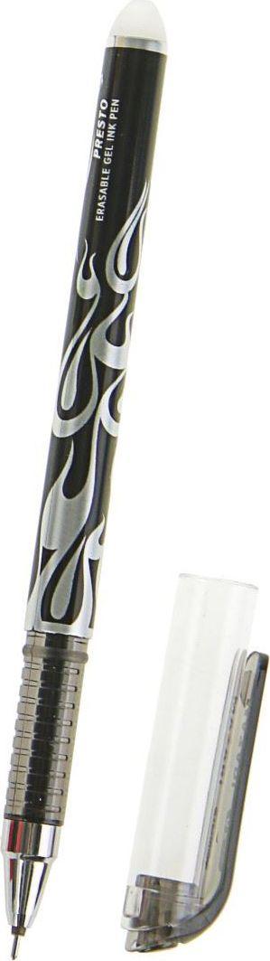 Mazari Ручка гелевая Presto черная1975752Ручка гелевая Mazari Presto состоит из легкого пластикового корпуса с металлическим наконечником и мягким антискользящим резиновым упором для пальцев. Тонкий шарик гарантирует качественное изящное письмо - узел 0.5 мм. Чернила обеспечивают мягкое ровное письмо и уверенное скольжение по бумаге. Изделия данной категории необходимы любому человеку независимо от рода его деятельности.