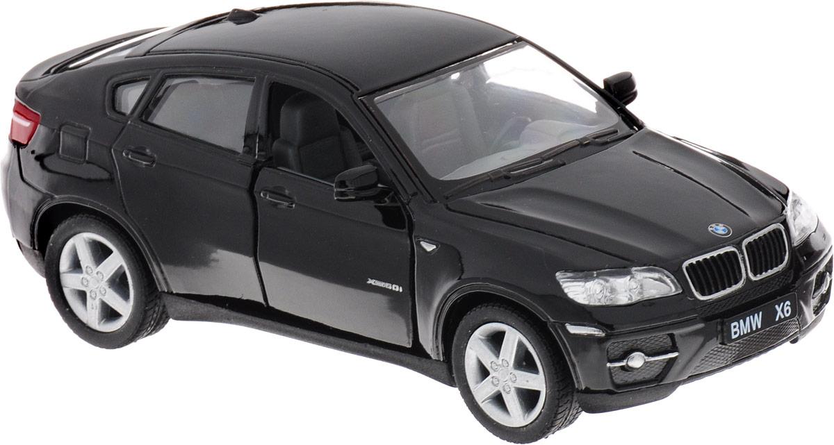Kinsmart Модель автомобиля BMW X6 цвет черный журнал моделей а1 мужские пиджаки авторские модели пароль для заказа лекал 5 выкроек