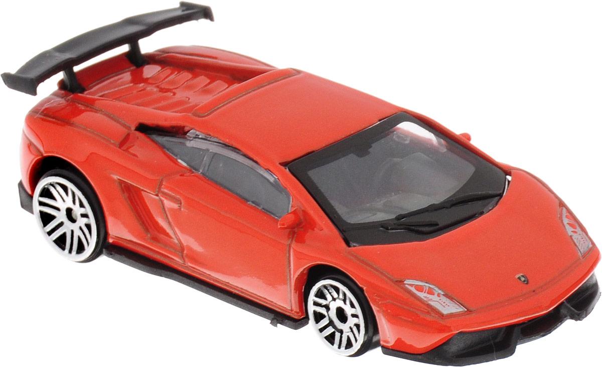ТехноПарк Модель автомобиля Lamborghini LP-570 цвет оранжевый технопарк машинка инерционная lamborghini gallardo цвет фиолетовый