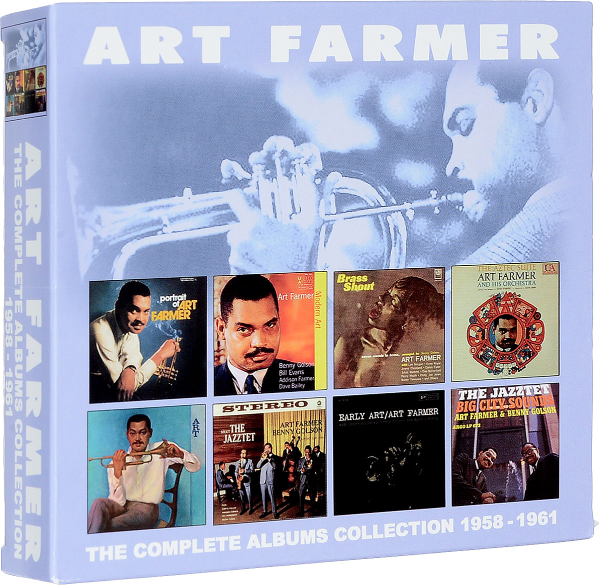 Арт Фармер Art Farmer. The Complete Albums Collection 1958 - 1961 (4 CD) милен фармер mylene farmer bleu noir 2 lp