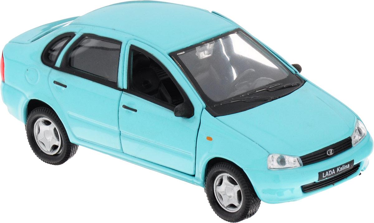 Welly Модель автомобиля LADA Kalina цвет ментоловый welly модель автомобиля audi r8 v10 цвет красный