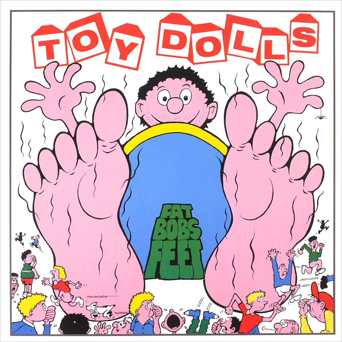 The Toy Dolls The Toy Dolls. Fat Bobs Feet (LP) men s denim shorts 2017 new summer regular casual knee length short bermuda masculina hole jeans shorts for men street dress