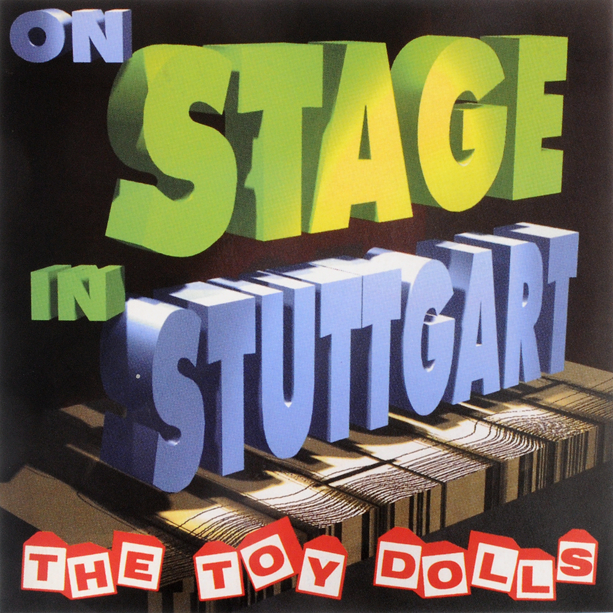 The Toy Dolls The Toy Dolls. On Stage In Stuttgart (2LP)