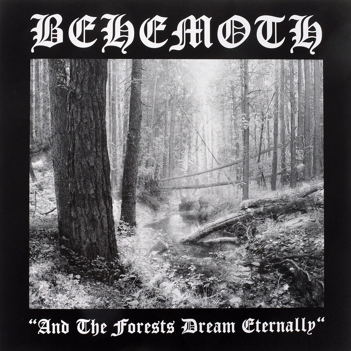 Behemoth Behemoth. And The Forests Dream Eternally (LP) the troubled mind