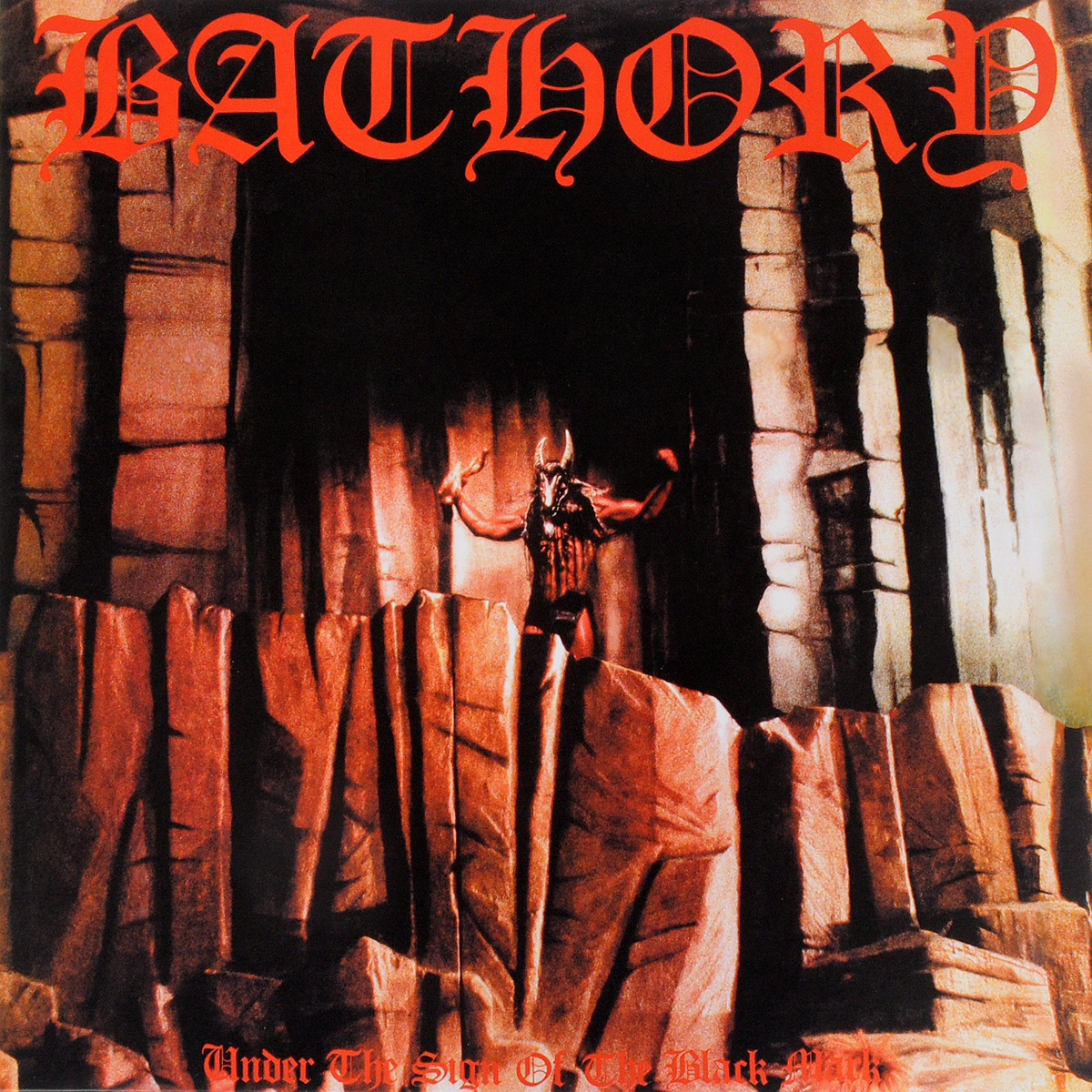 Bathory Bathory. Under The Sign Of The Black Mark (LP) the mark of the midnight manzanilla