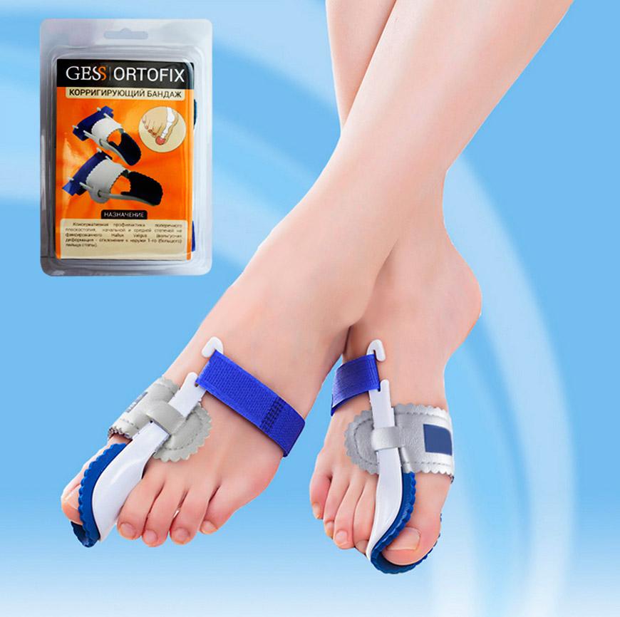 Gess OrtofixФиксатор для большого пальца ноги Регулируйте положения пальца, меняя степень натяжения ленты-липучки...
