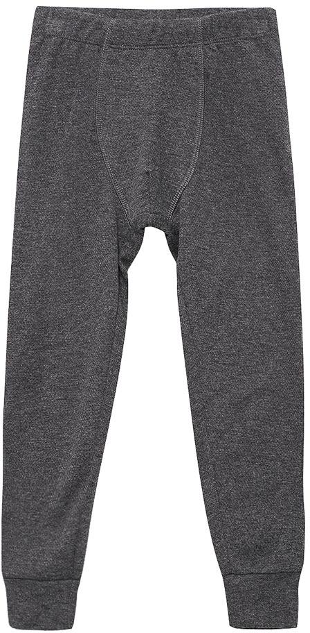 Термобелье брюки для мальчика Sela, цвет: темно-серый меланж. LPUb-7855/007-7412. Размер 140/146LPUb-7855/007-7412