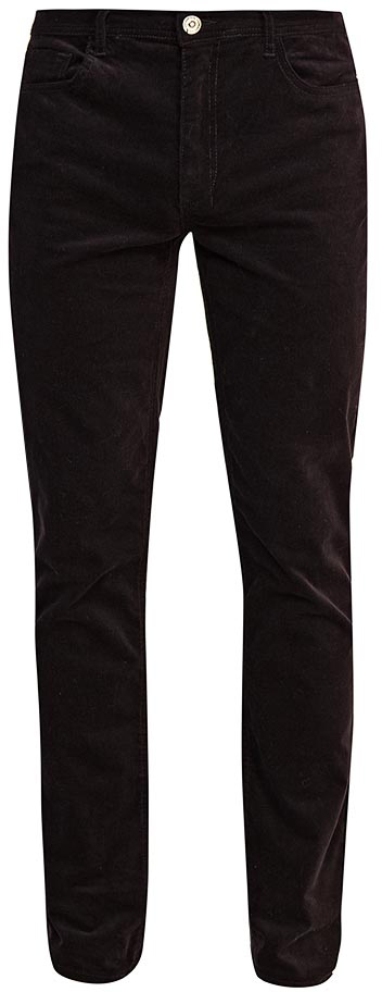 Брюки мужские Sela, цвет: черный. P-215/125-7423. Размер M (48)P-215/125-7423Стильные мужские брюки-слим от Sela выполнены из эластичного хлопкового материала. Модель зауженного кроя в поясе застегивается на пуговицу и ширинку на молнии, имеются шлевки для ремня. Спереди брюки дополнены втачными карманами, сзади – накладными карманами.