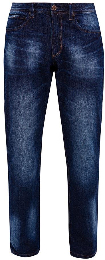 Брюки мужские Sela, цвет: темно-синий джинс. PJ-235/104-7452. Размер 32-34 (48-34)PJ-235/104-7452