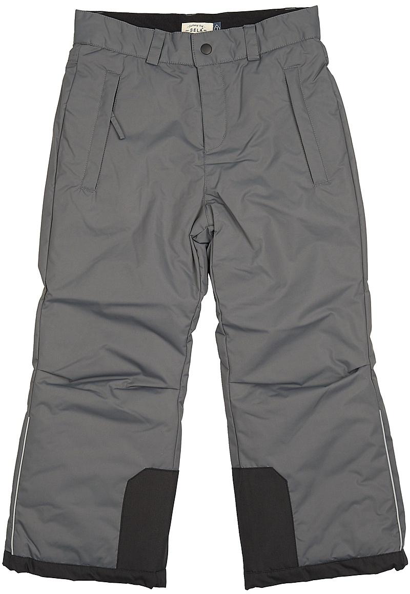 Брюки для мальчика Sela, цвет: темно-серый. Ppc-825/285-7462. Размер 122Ppc-825/285-7462