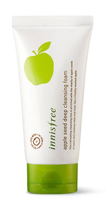 Innisfree Apple Очищающая пенка с экстрактом яблока, 150 млУТ-00000238Увлажняющая пенка для умывания с экстрактом яблока сделана из органического сырья, освежает и тонизирует. Обильные органические кислоты и витамины из яблок удаляют омертвевшие клетки на поверхности кожи и открывают поры для эффективного глубокого очищения. Зеленый комплекс с острова Чеджу (экстракт зеленого чая, вытяжка из кожуры мандарина, экстракт листьев камелии, экстракт кактуса и орхидеи), содержащийся в пенке, увлажнят вашу кожу и сохранят ее надолго здоровой.Уважаемые клиенты!Обращаем ваше внимание на возможные изменения в дизайне упаковки. Качественные характеристики товара остаются неизменными. Поставка осуществляется в зависимости от наличия на складе.