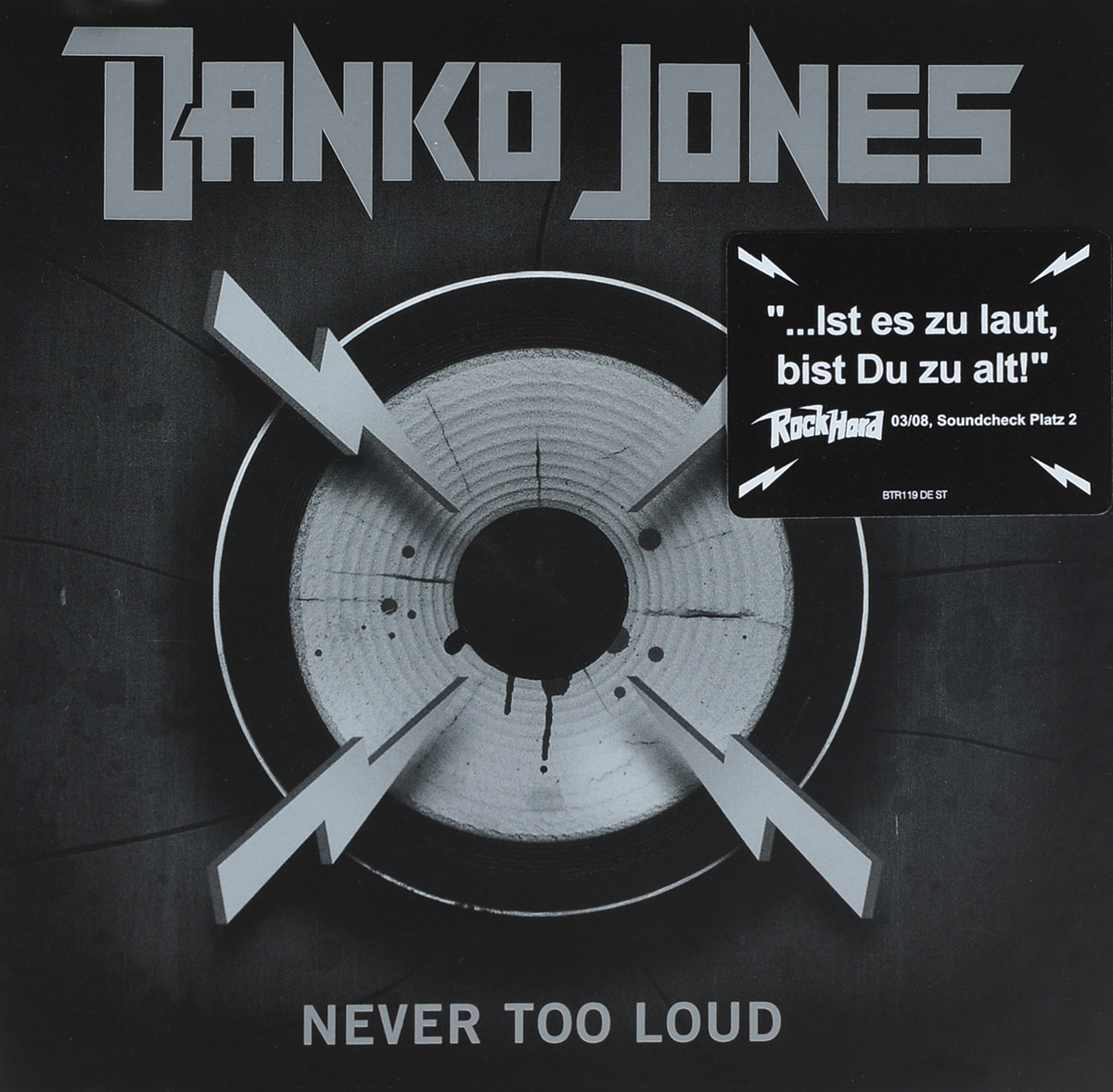 Danko Jones Danko Jones. Never Too Loud ultra loud bicycle air horn truck siren sound 120db