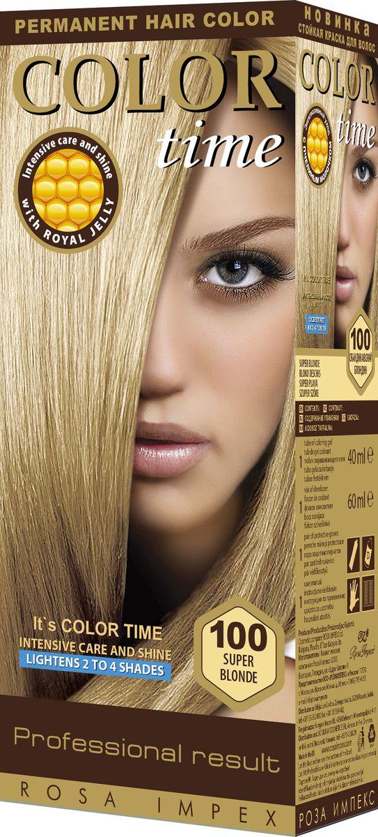 Color Time Гель-краска для волос 100 Скандинавский блондин, 100 мл2313-4-100COLOR TIME - Стойкая гель-краска для волос Новое поколение - формула на основе геля Интенсивный блеск и уход с Пчелиным молочком ROYAL JELLY Инновационная формула с пчелиным молочком ROYAL JELLY обеспечивает идеальный баланс: - насыщенного цвета; - интенсивного ухода и надежной защиты. Комплекс из 18 аминокислот, пептидов, протеинов и стеролов питает волосы и восстанавливает их структуру. Питательные вещества пчелиного молочка являются строительным материалом для клеток волос, способствуют восстановлению и укреплению структуры волос и улучшают их внешний вид. Новая профессиональная формула на основе геля делает цвет исключительно устойчивым. Эта формула позволяет цветным пигментам в комбинации с Пчелиным молочком глубоко проникнуть внутрь волоса и получить таким образом результат: УНИКАЛЬНЫЙ ЦВЕТ и ЖИВЫЕ ВОЛОСЫ. Для дополнительного ухода в формулу добавлен и специальный силиконовый кондиционер, который делает волосы более БЛЕСТЯЩИМИ и МЯГКИМИ. Краска для волос COLOR TIME предназначена для женщин: - любого возраста, использующих косметику на основе натуральных, природных компонентов; - современных и стильных; - предпочитающих натуральные насыщенные цвета; - готовых экспериментировать и быть всегда в моде; Степень Стойкости 3 – обеспечивает стойкое окрашивание до появления отросших волос. 100 % окрашивание седых волос. Оптимальное окрашивание седых волос за 30 мин.