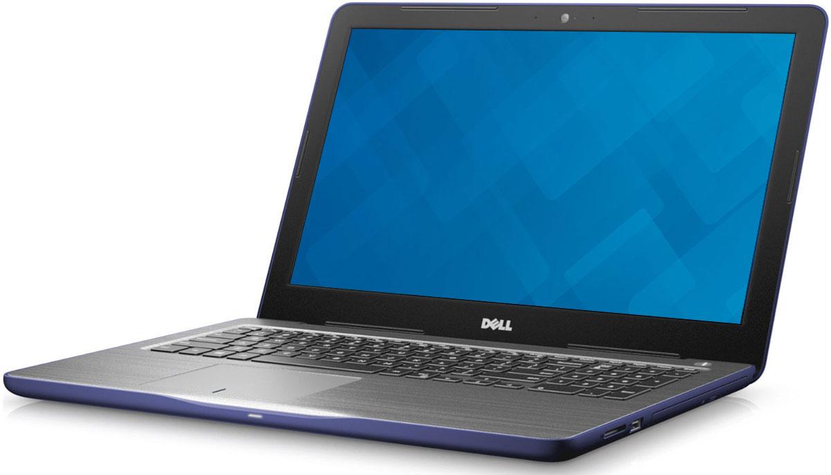Dell Inspiron 5767-7980, Blue5767-7980Новый уровень развлечений и производительности благодаря 17,3-дюймовому ноутбуку Dell Inspiron 5767 со стильным, привлекательным дизайном, который объединяет в себе мощность настольного компьютера и яркий экран с разрешением Full HD.Замените настольный компьютер на стильный ноутбук, обладающий функциями для повышения производительности, которые обеспечивают кинематографическое качество воспроизведения мультимедийных материалов. Ноутбук Dell Inspiron 5767 оснащен процессором Intel Core i5, встроенным дисководом оптических дисков, полноразмерным портом HDMI, USB 3.0 и устройством считывания карт памяти SD. Новый дизайн тоньше и легче, чем у предыдущих версий, поэтому компьютер проще переносить из комнаты в комнату. Жесткий диск позволяет хранить ваши файлы под рукой благодаря емкости системы хранения до 1 TБ. Оцените яркие изображения на 17-дюймовом дисплее нового ноутбука Inspiron - широкий экран с диагональю 17,3 дюйма создает полный эффект присутствия. Разрешение Full HD обеспечивает удивительную четкость благодаря увеличению числа пикселей на 37% по сравнению с обычными экранами высокой четкости. Чем бы вы ни занимались - микшированием, прослушиванием потокового аудио или общением, - технология Waves MaxxAudio обеспечивает более низкие басы, более высокие верхние ноты и фантастическое качество звучания.С помощью цифровой клавиатуры вы сможете эффективно работать с электронными таблицами, а большая сенсорная панель позволяет быстрее масштабировать и прокручивать содержимое, а также наводить на него указатель мыши.Точные характеристики зависят от модификации.Ноутбук сертифицирован EAC и имеет русифицированную клавиатуру и Руководство пользователя.