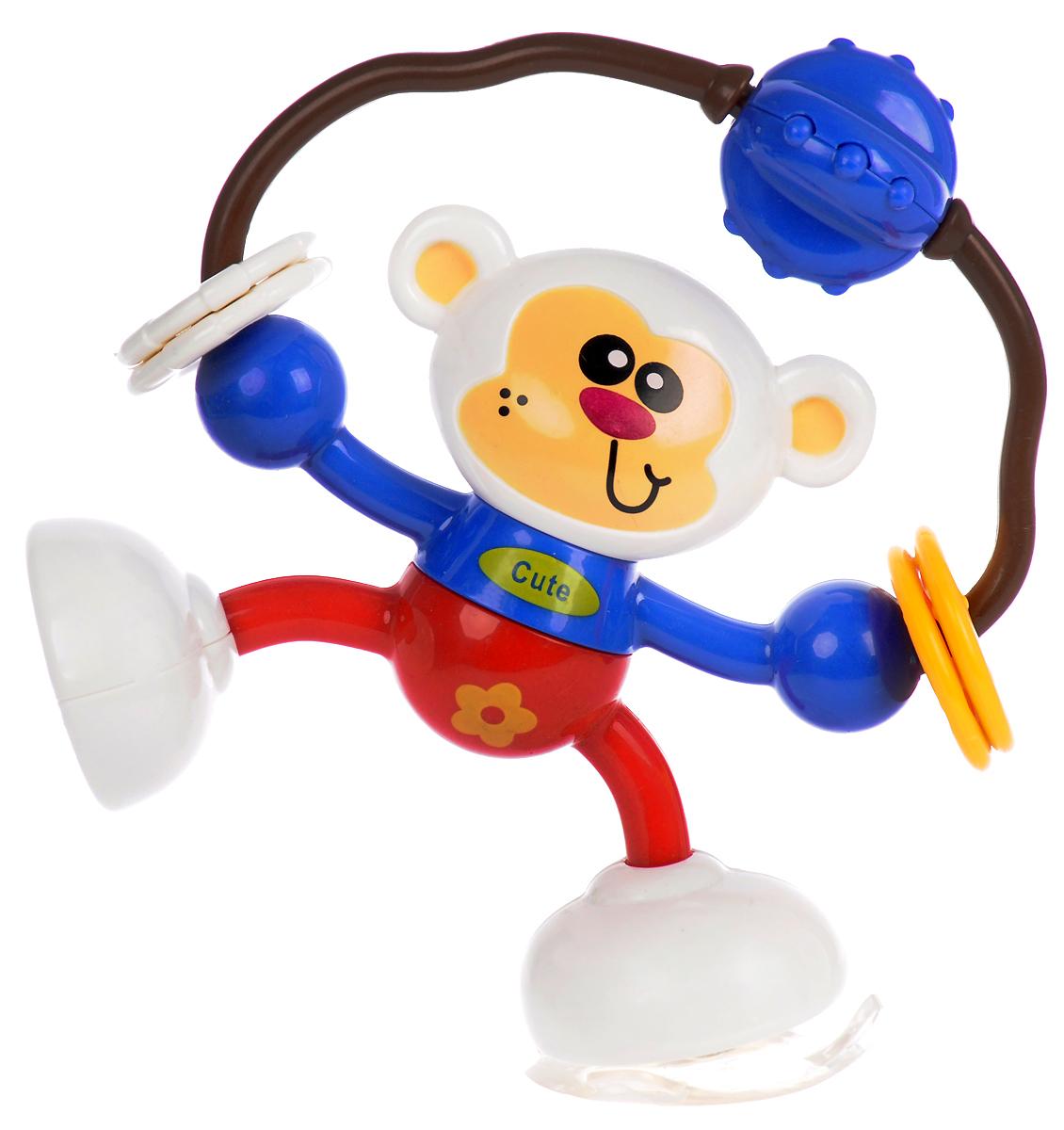 Ути-Пути Развивающая игрушка Обезьянка серьги веселые обезьянки