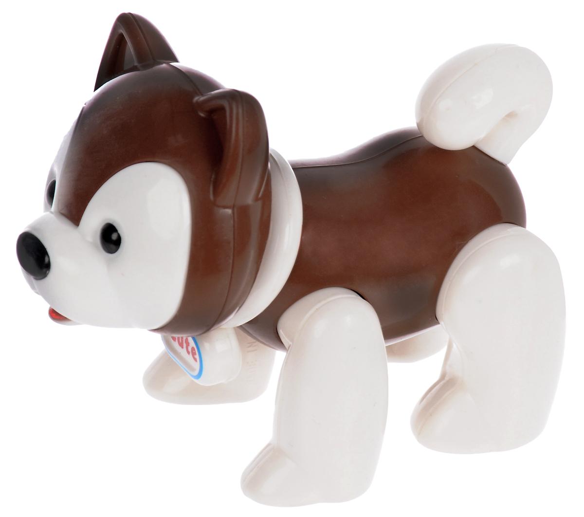 Ути Пути Развивающая игрушка Собачка игрушка триол игрушка гантель шипованная с лапками и косточками для собак 721002