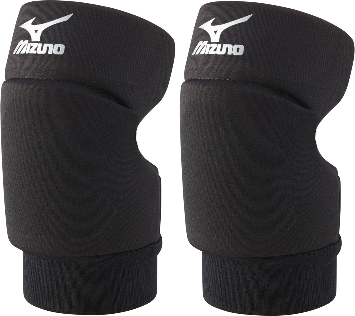 Наколенники волейбольные Mizuno  Open Back Kneepad , цвет: черный, 2 шт. Z59SS890. Размер L - Волейбол