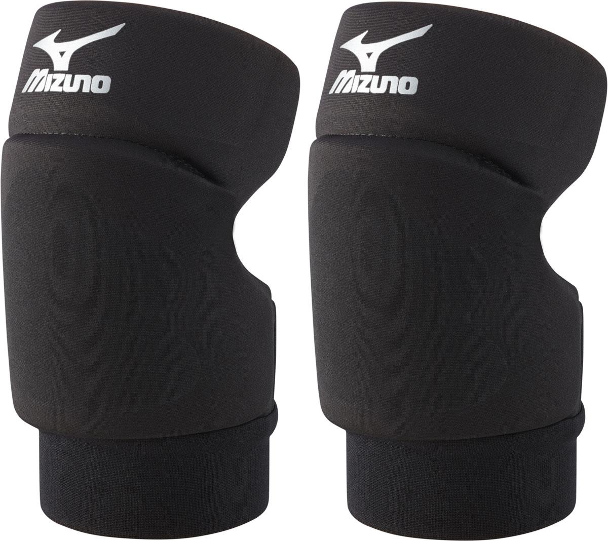 Наколенники волейбольные Mizuno Open Back Kneepad, цвет: черный, 2 шт. Размер MZ59SS890Наколенники для волейбола Mizuno Open Back Kneepad с открытой задней частью, обеспечивающие великолепную свободу движений во время игры на площадке.Состав: 58% нейлон, 25% полиэстер, 10% хлопок, 7% спандекс.
