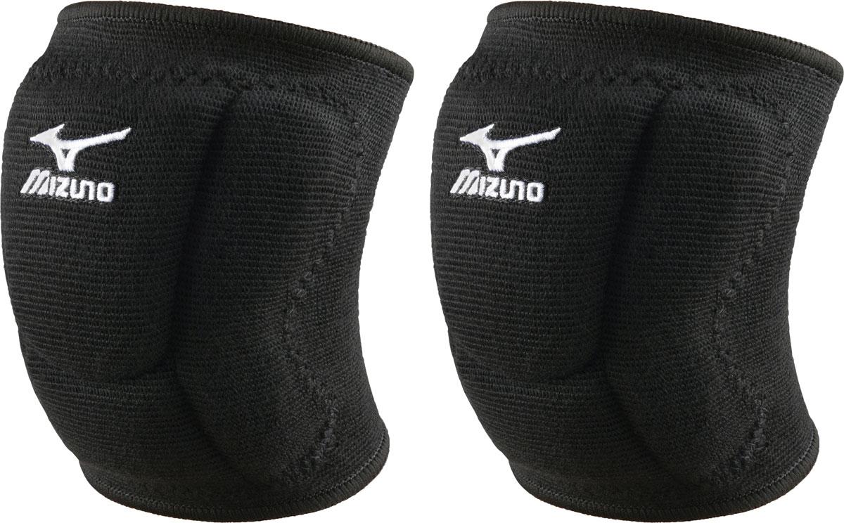 Наколенники волейбольные Mizuno VS1 Compact Kneepad, цвет: черный, 2 шт. Размер LZ59SS892Наколенники волейбольные. Уменьшают риск травмы во время игры.Полиэстер и хлопок с профилировынным гелевым протектором высокой плотности для смягчения падений.Материал VS-1 поглощает удар и повышает упругость за счет сопротивления остаточной деформации сжатия. Обеспечивает большее поглощение, чем традиционные материалы.В упаковке: Пара (2 шт.)