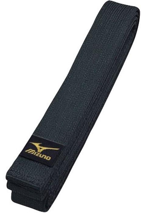 Пояс для единоборств Mizuno All Japan Belt MRB, цвет: черный. VJ01309. Длина 255 смVJ01309пояс для кимоно100% хлопокширина 45мм