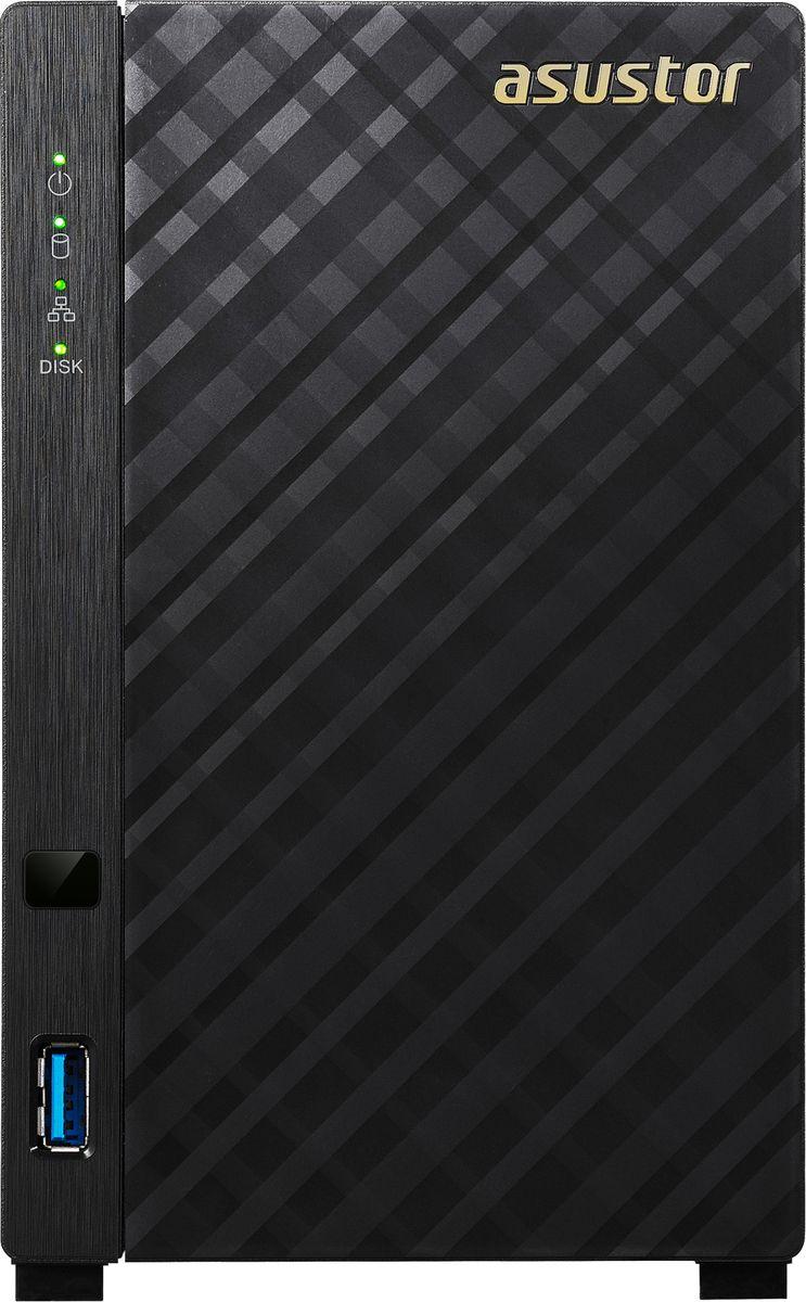 ASUSTOR AS1002T 20TB сетевое хранилище (90IX00L1-BW3S10) - Сетевое оборудование