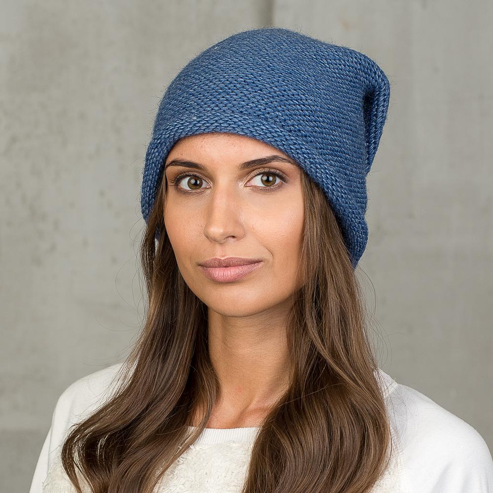 Шапка женская Stilla, цвет: синий. SH-707/022. Размер 52/56 - Зимняя рыбалка