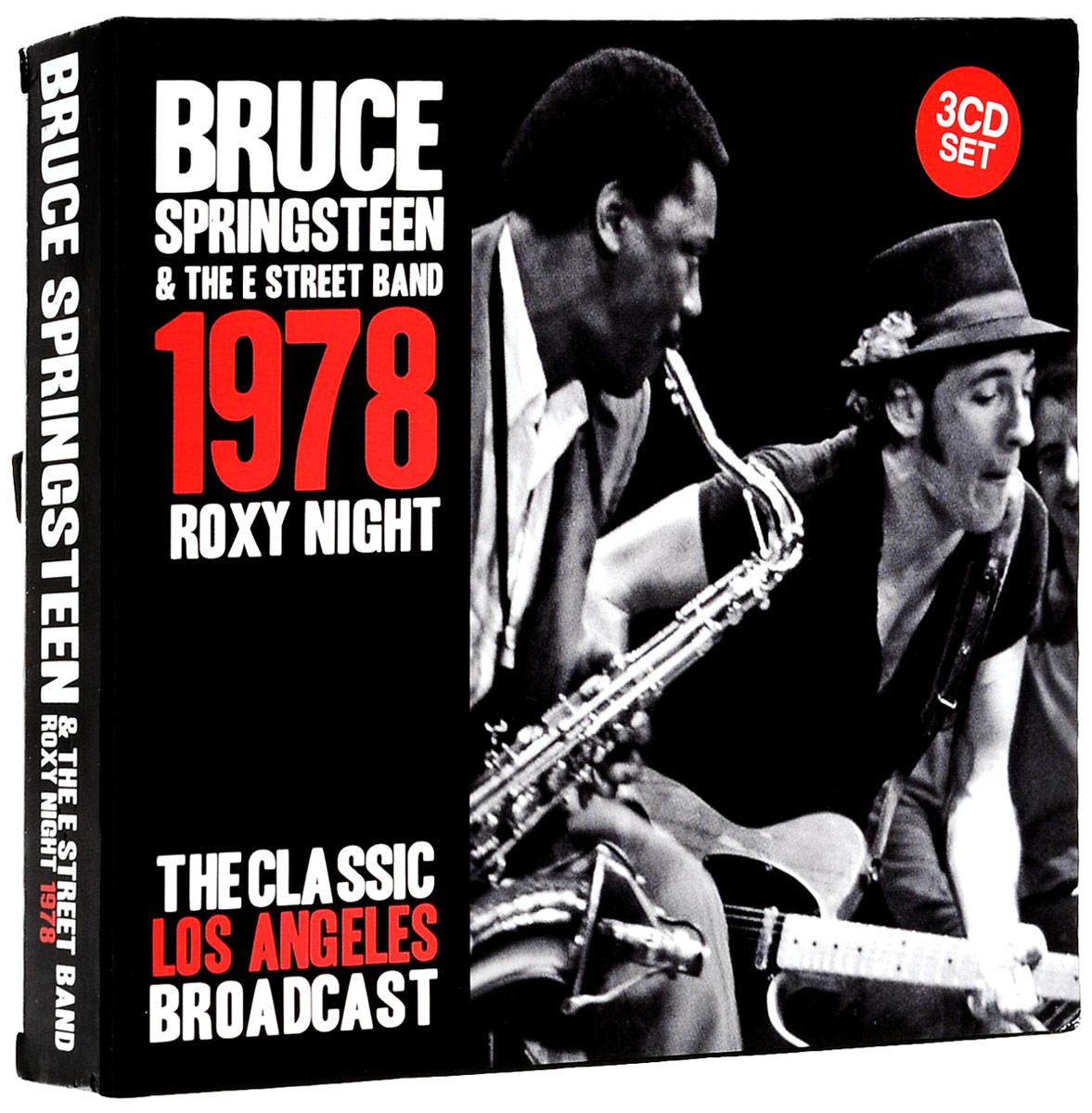 Брюс Спрингстин Bruce Springsteen. Roxy Night (3 CD) bruce springsteen live in dublin blu ray