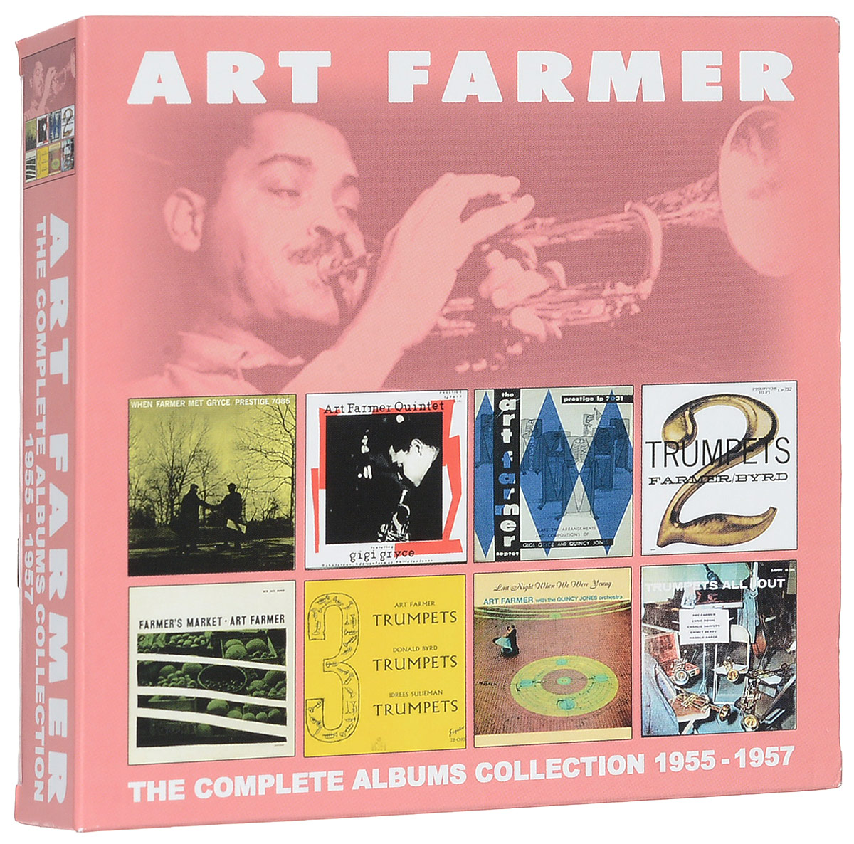 Арт Фармер Art Farmer. The Complete Albums Collection 1955 - 1957 (4 CD) милен фармер mylene farmer bleu noir 2 lp
