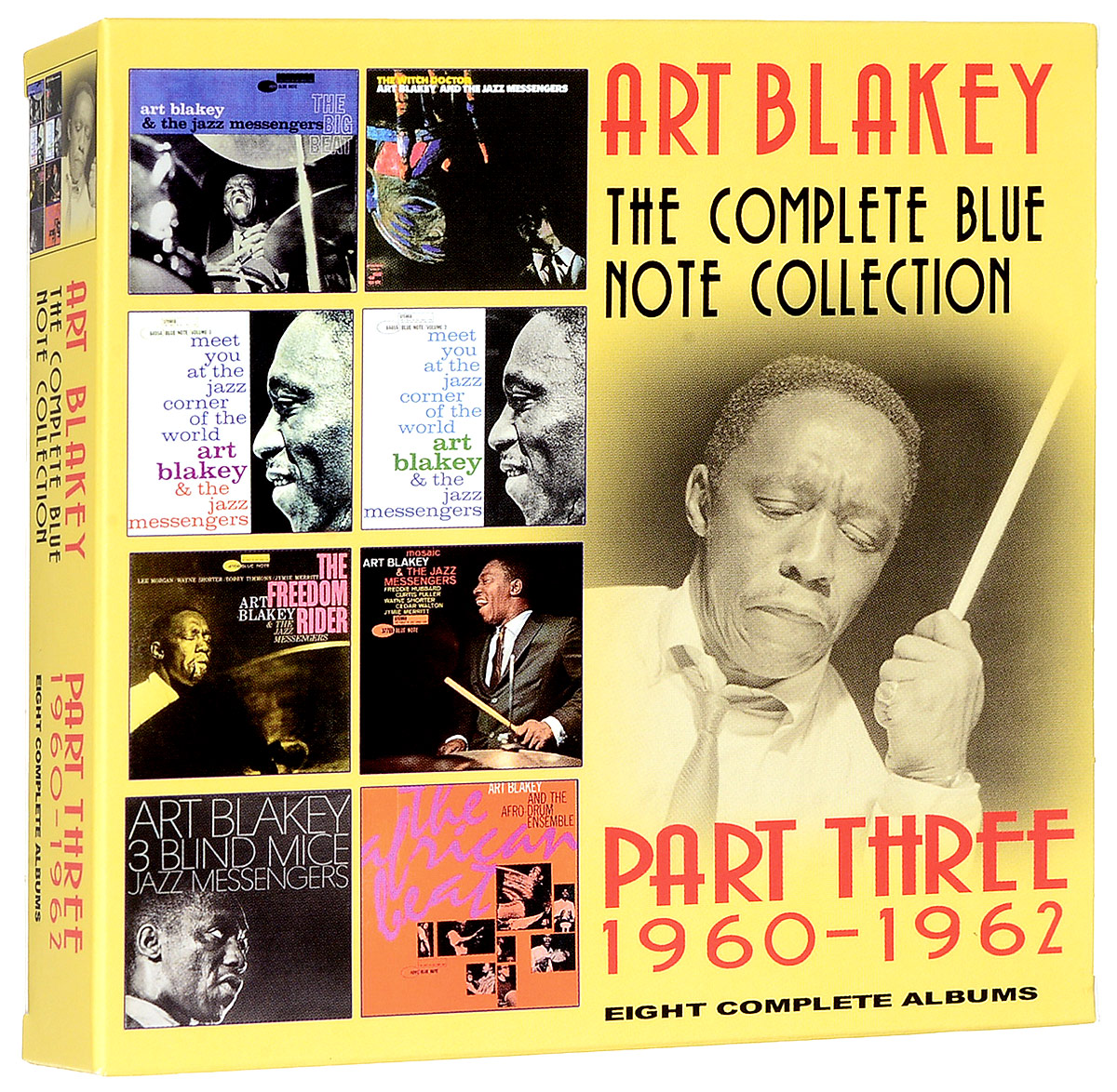 Арт Блэйки Art Blakey. The Complete Blue Note Collection 1960 - 1962 (4 CD)