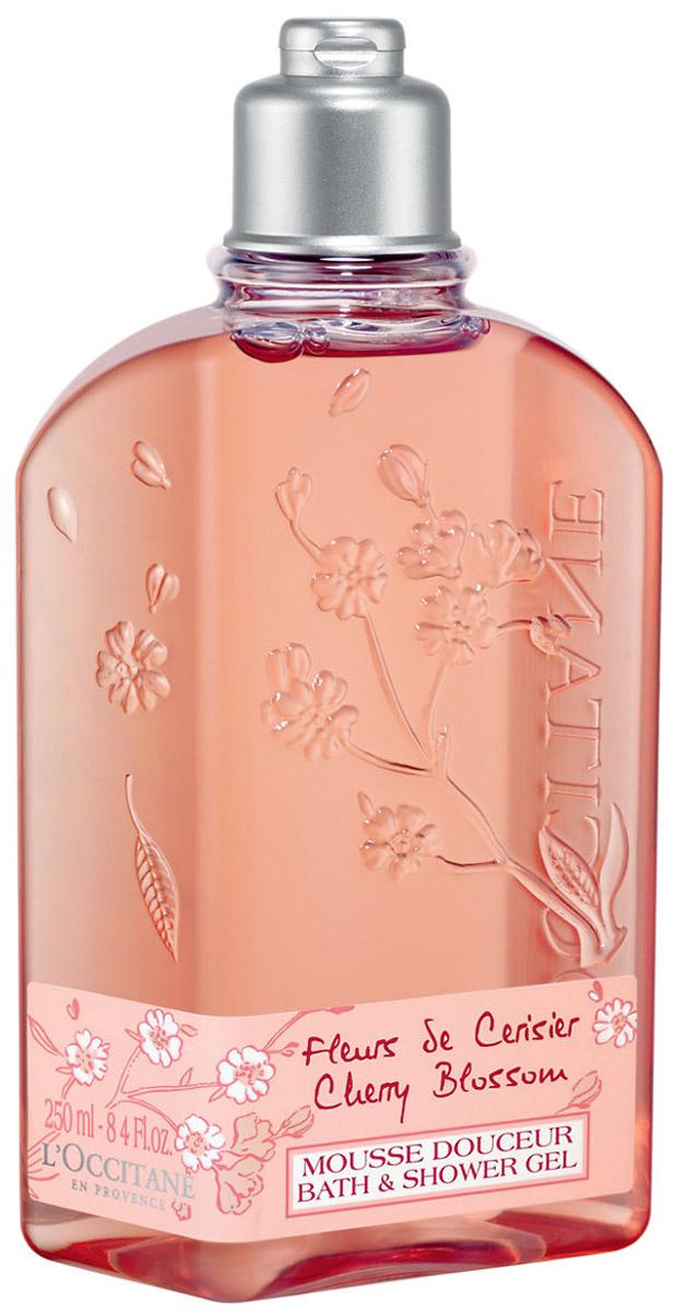 Гель для душа LOccitane Вишневый цвет, 250 мл344248Мягкий гель для душа подарит вашей коже женственно-цветочный аромат с нотками вишни, фрезии и черной смородины.Деликатные компоненты в составе геля смягчают и питают даже самую чувствительную кожу, а также наполняют ванную комнату нежным ароматом. Характеристики: Объем: 250 мл. Артикул: 052747. Производитель: Франция.Товар сертифицирован.
