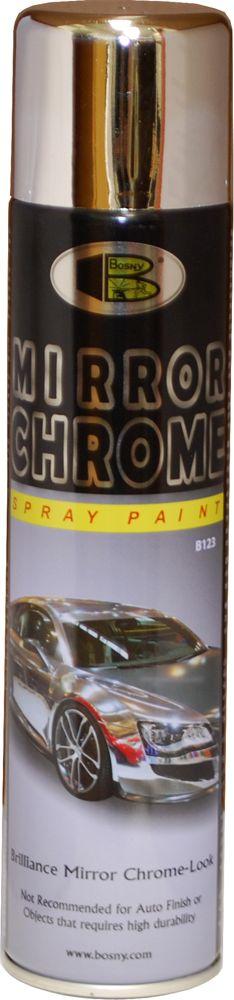 Краска автомобильная Bosny, цвет: зеркальный хром, 270 млB123Основное предназначение краски хром – придание поверхности зеркального блеска. Применение этой спрей-краски эффективно при покрытии металла и дерева, пластика и кожи. Хромированные покрытия весьма стойки к ультрафиолету и, при отсутствии условий активного истирания и воздействия агрессивных сред, очень долго сохраняют свой первозданный вид. Основное предназначение краски хром – придание поверхности зеркального блеска. Применение этой спрей-краски эффективно при покрытии металла и дерева, пластика и кожи. Хромированные покрытия весьма стойки к ультрафиолету и, при отсутствии условий активного истирания и воздействия агрессивных сред, очень долго сохраняют свой первозданный вид. Краска хром относится к тем краскам, которые не так часто применяются в быту, но при этом, ей трудно найти замену. Этот цвет - уникален и неповторим, и потому, покрытые им поверхности – всегда эффектны и привлекательны с эстетической точки зрения. Краской хром пользуются дизайнеры, она популярна и у тех, кто занимается творчеством и ремонтом. Большую популярность краска приобрела при восстановлении привлекательного вида корпусов и деталей аудио- и видеотехники. Срок годности 5 лет.