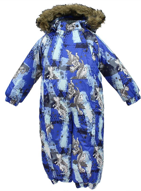 Комбинезон утепленный детский Huppa Keira, цвет: синий. 31920030-72135. Размер 9231920030-72135Комбинезон утепленный детский Huppa Keira изготовлен из полиэстера. Швы изделия проклеенные. Комбинезон с отстегивающимся капюшоном и воротником-стойкой застегивается на пластиковую молнию. Капюшон пристегивается к комбинезону при помощи кнопок. На рукавах имеются эластичные манжеты. Манжеты с отворотом у размеров 68-80. Комбинезон оснащен светоотражающими элементами для безопасности ребенка в темное время суток.