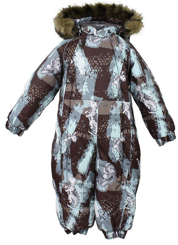 Комбинезон утепленный детский Huppa Keira, цвет: коричневый. 31920030-72181. Размер 9831920030-72181Комбинезон утепленный детский Huppa Keira изготовлен из полиэстера. Швы изделия проклеенные. Комбинезон с отстегивающимся капюшоном и воротником-стойкой застегивается на пластиковую молнию. Капюшон пристегивается к комбинезону при помощи кнопок. На рукавах имеются эластичные манжеты. Манжеты с отворотом у размеров 68-80. Комбинезон оснащен светоотражающими элементами для безопасности ребенка в темное время суток.