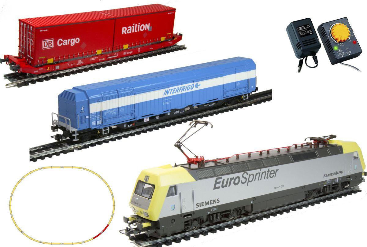 Mehano Prestige Электровоз Dispolok с вагонами - Железные дороги