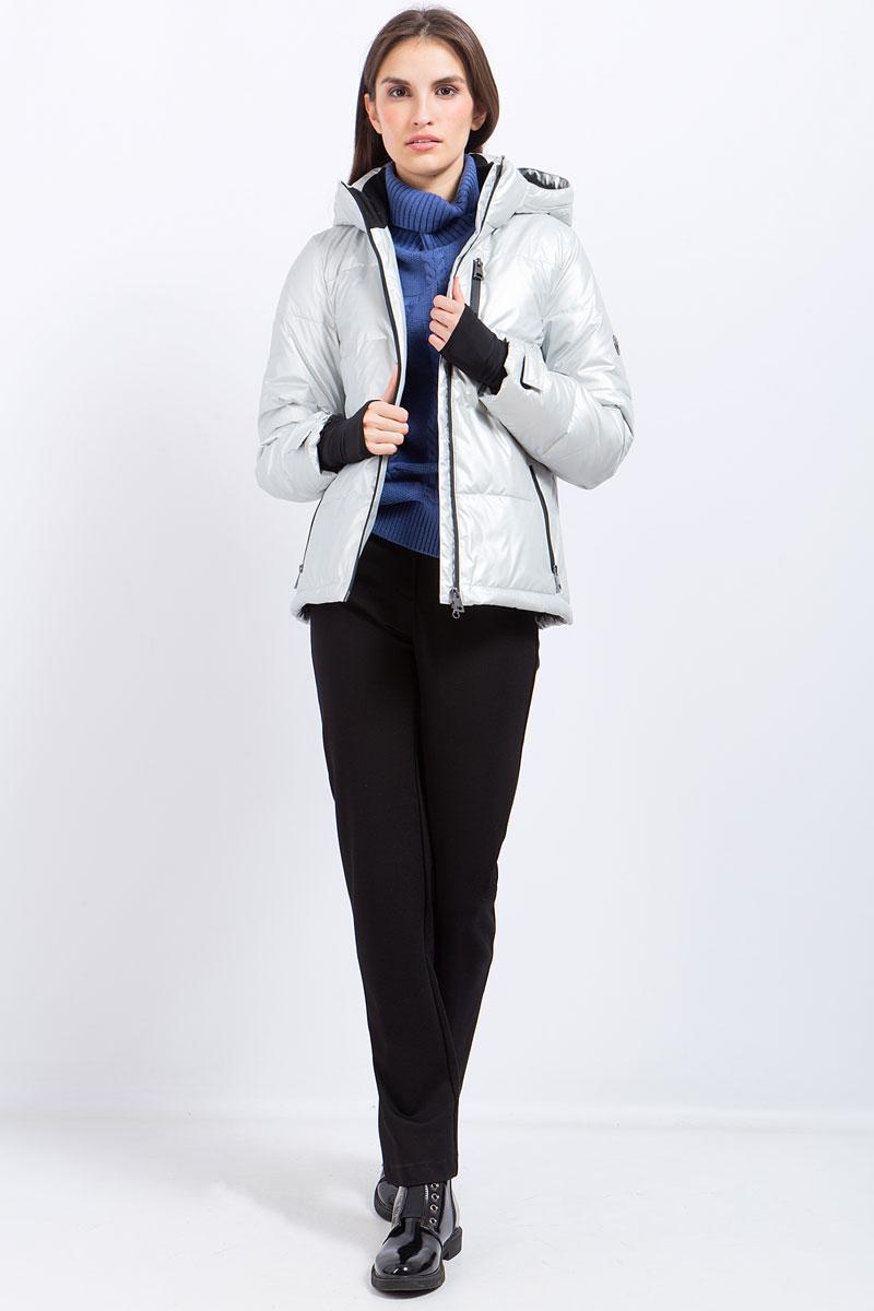 Куртка женская Finn Flare, цвет: светло-серый. W17-12040_211. Размер L (48)W17-12040_211