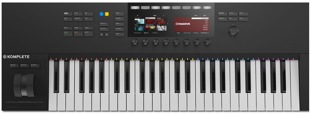 Native Instruments Komplete Kontrol S49 Mk2, Black MIDI-клавиатура Native Instruments