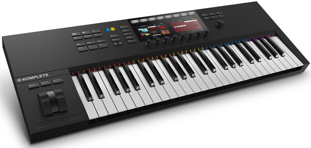 кейс native instruments traktor kontrol s4 Native Instruments Komplete Kontrol S49 Mk2, Black MIDI-клавиатура