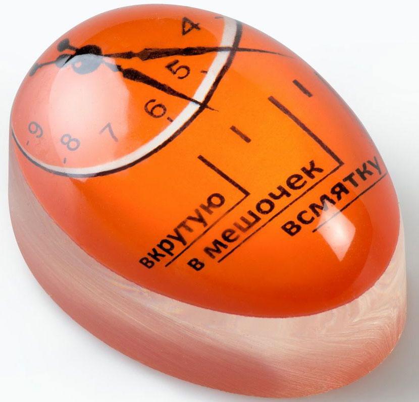 Индикатор для варки яиц Ruges Игги, цвет: красныйK-1Варка яиц, на самом деле, очень напряженный процесс. От 2 до 10 минут вы тесно связаны скастрюлькой, таймером и мыслями Не отвлечься!. А эта тонкая грань между всмятку и вмешочек?! И досадная невозможность заглянуть внутрь яйца и убедиться. Индикатордля варки яиц Игги позволяет приготовить яйцо нужной степени готовности не засекая время!Игги варится вместе с яйцами и по мере готовности яиц меняет по контуру свой цвет -ширина цветового ободка покажет на шкале степень готовности яиц. Индикатор дляварки яиц Игги обладает высокой точностью. Больше не надо угадывать! Важно: дляповторного использования нужно дать полностью остыть, иначе показывать будет неверно!Размер: 5,7 х 4 х 3,2 см. Вес: 56 грамм. Шкала: всмятку, в мешочек, вкрутую.
