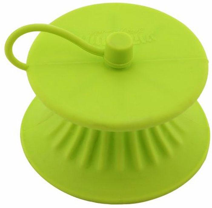 """Приспособление для сжатия лимонов Ругес Капсуль, цвет: светло-зеленыйK-16Сбрызнуть соком лимона - фраза популярная во многих кулинарных рецептах. Или вот еще: Добавить пол чайной ложки лимонного сока. Берем лимон и решаем: сколько отрезать и как давить, чтобы получить эти самые пол чайной ложки и несколько брызг на блюдо. С потерями в виде брызг повсюду и неудобствами испачканных рук не считаемся, косточки и кусочки мякоти вынимаем. Соковыжималка для лимона Капсуль - приятный кухонный аксессуар, который позволяет выдавить сок лимона без брызг, сохранив руки чистыми, а в сок не попадут косточки и кусочки мякоти. Соковыжималка """"Капсуль"""" – это силиконовый мешочек, с отверстием, откуда без разбрызгивания вытекает сок, в нужном Вам количестве. Отверстие закрывается маленькой крышечкой. Соковыжималка Капсуль позволяет хранить лимон, в котором еще остался сок, в холодильнике до следующего применения. Удобно использовать за столом, когда необходимо сбрызнуть лимонным соком готовое блюдо: сок попадает точно на блюдо, руки чистые, а Вы и окружающие защищены от неловких брызг. Вес: 22 гр. Размер: 7,5х4 см. Отверстие диаметром 2 мм, с закрывающим колпачком. Материал: силикон. Инструкция на русском языке."""