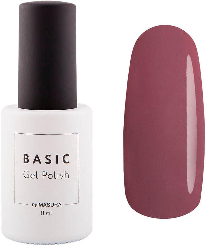 Masura Гель-лак Basic Всегда Прекрасна, 11 мл294-370SДорогой розовый цвет с приглушенным тоном, эмалевый, плотный.